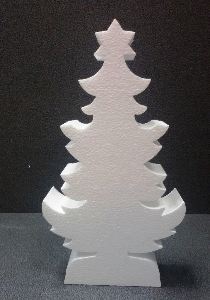 Foto Di Natale Albero.Albero Di Natale In Polistirolo H Cm 30 Spessore 5