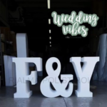 WEDDINS SWEET TABLE DECORATIONS